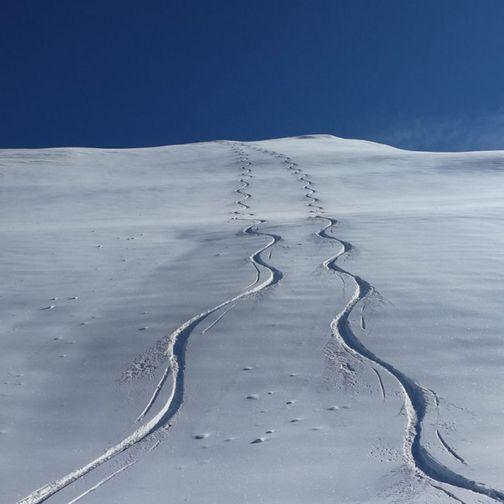 Perfect ski tour