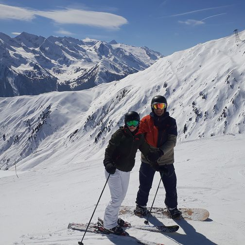 Skiing experience in the Zillertal Alps