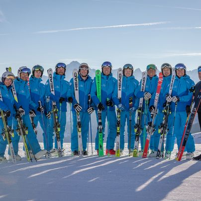 Team at Ski School Tux 3000