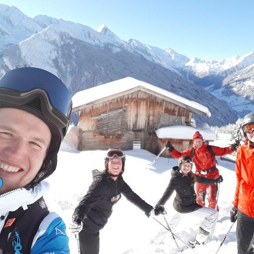 Skispaß mit der Familie