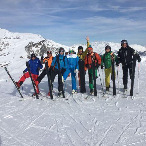 Skiguiding Gruppe
